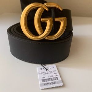 dNew Gucci Belt Âüthentíć Double G Marmot